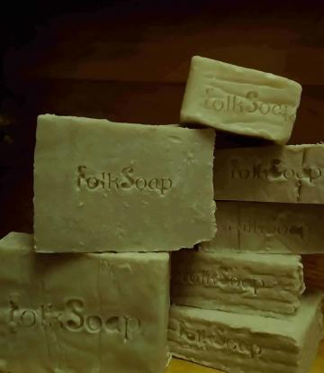French Green Clay & Lavender Soap with Welsh Honey & Sea Salt