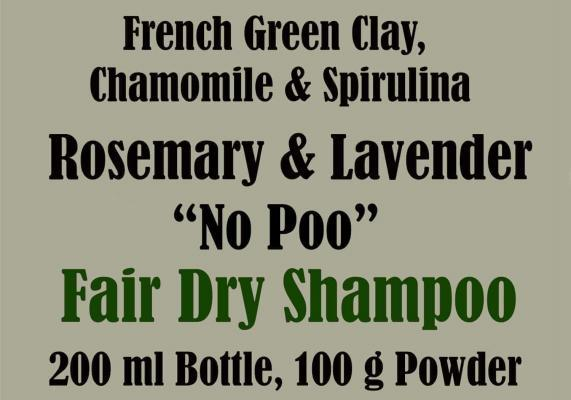 Dry shampoo for blondes and fair hair.