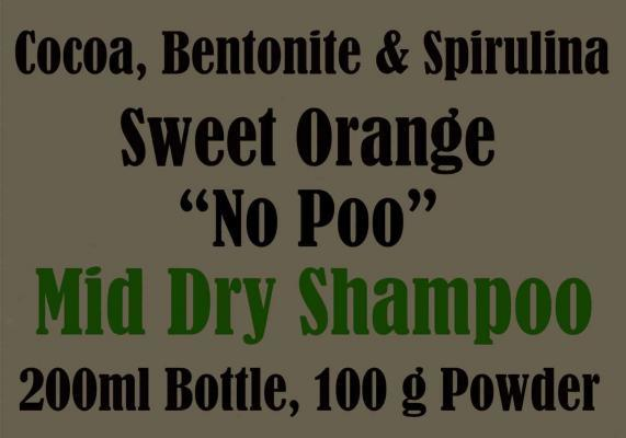 Dry Shampoo for brown, brunettes, auburn and red heads