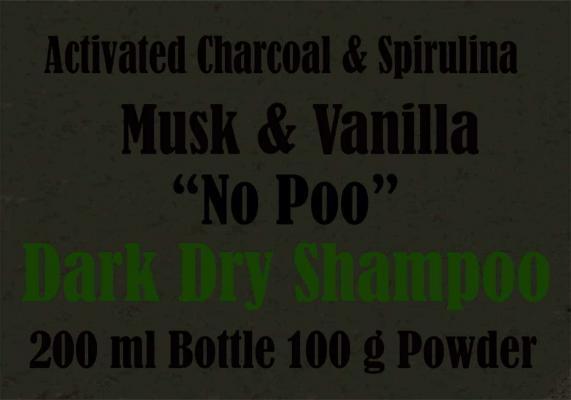 Dry Shampoo for dark Black Hair