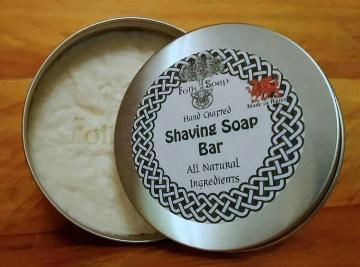 Natural Shaving Soap in 250 ml Reusable Tin
