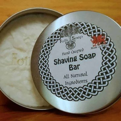 Natural Shaving Soap in 250 ml Reusable Tin