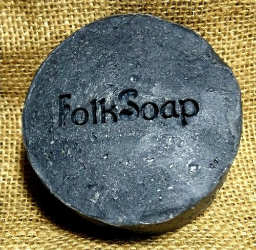 Folk Soaps Activated Charcoal soap