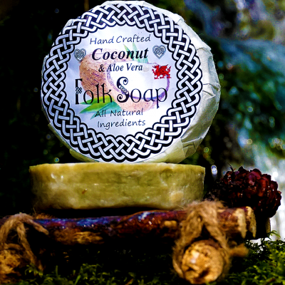 coconut and aloe vera Shampoo Bar