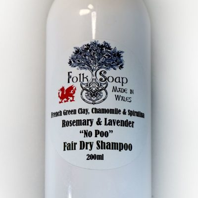 Dry Shampoo in Sustainable Refill Container for Fair Hair