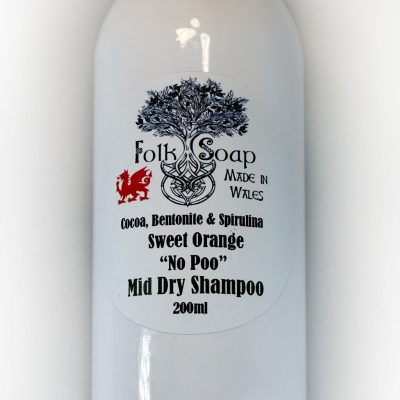 Mid Hair dry shampoo for Brown or Red heads