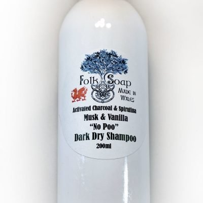 Dark Hair dry shampoo for Black Raven heads