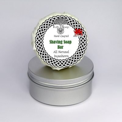 Folk Soap Shaving soap in tin