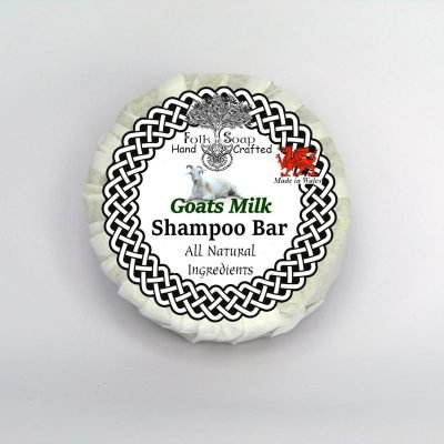 Folk Soap Goats Milk solid moisturising shampoo bar
