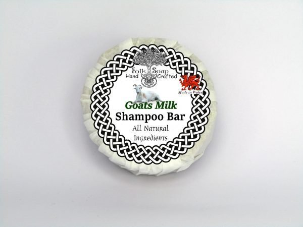 Folk Soap Goats Milk solid moisturising shampoo bar
