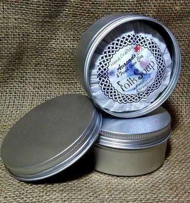 Solid Soap Shampoo Travel Tin