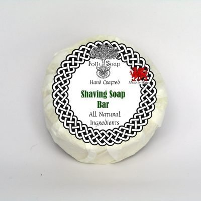 Shaving Soap Bar with Sandalwood and Patchouli