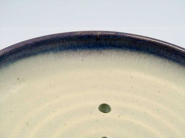 Ceramic Stoneware Soap Dish by local Welsh ceramicist Ros Chicken