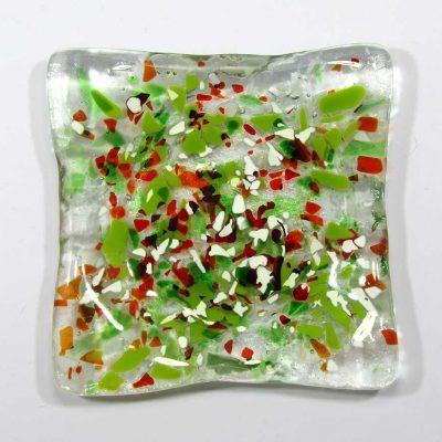 soap folk glass shampoo dish